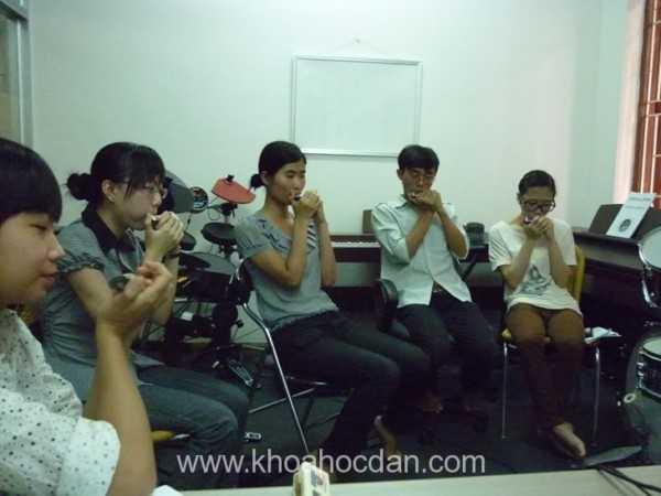 Khóa dạy học đàn Harmonica