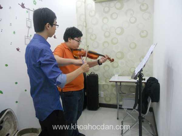 Khóa dạy học đàn Violin giá rẻ tốt nhất ở đâu TPHCM