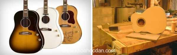 Ảnh hưởng của gỗ tới chất lượng đàn guitar(p2.)
