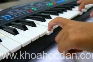Giáo án sách học đàn Organ cơ bản cho người mới bắt đầu