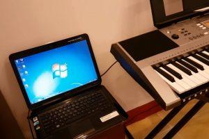 Hướng dẫn kết nối đàn organ với máy tính