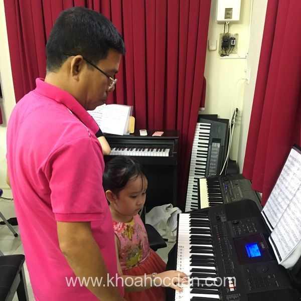 Khóa học đàn Organ dành cho học sinh ở TPHCM