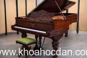 Kích thước của đàn piano cơ dạng nằm