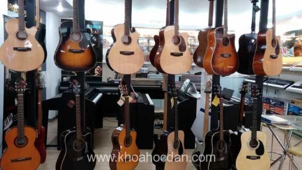 Những bước cơ bản khi bắt đầu học đàn Guitar
