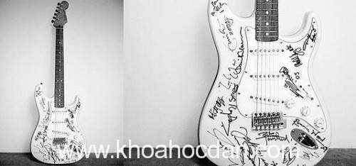 Những cây đàn guitar có giá đắt nhất thế giới