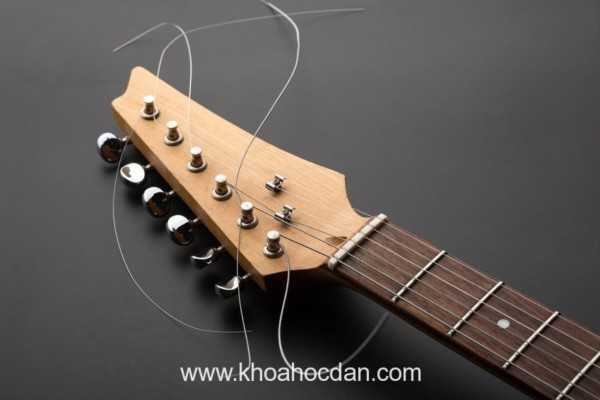 Những điều cần biết khi thay dây đàn guitar(p2.)