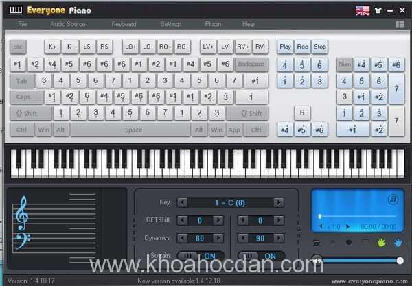 Những phần mềm học đàn piano trên máy tính được yêu thích