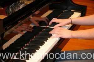 Khóa dạy học đàn Piano tốt nhất tại TPHCM